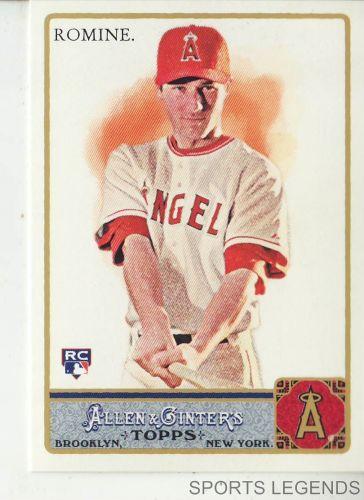 2011 Allen & Ginter #201 Andrew Romine