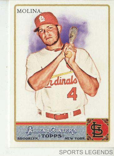2011 Allen & Ginter #247 Yadier Molina