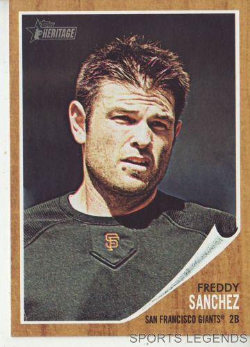 2011 Heritage #188 Freddy Sanchez