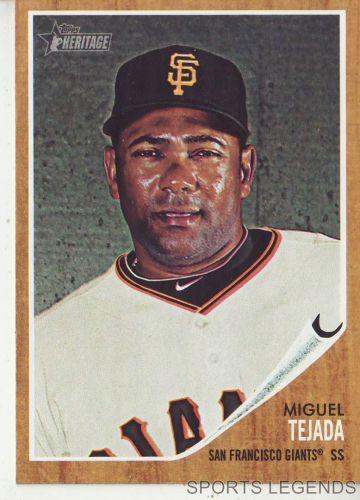 2011 Heritage #193 Miguel Tejada