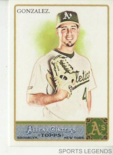 2011 Allen & Ginter #301 Gio Gonzalez