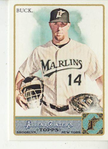 2011 Allen & Ginter #302 John Buck
