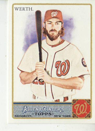 2011 Allen & Ginter #315 Jayson Werth