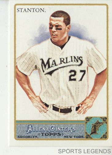 2011 Allen & Ginter #325 Mike Stanton