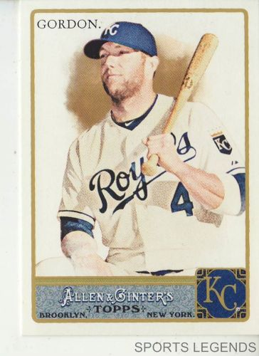 2011 Allen & Ginter #329 Alex Gordon