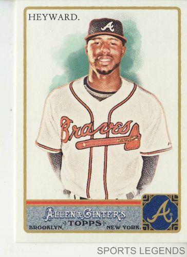 2011 Allen & Ginter #335 Jason Heyward