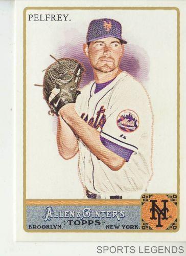 2011 Allen & Ginter #342 Mike Pelfrey