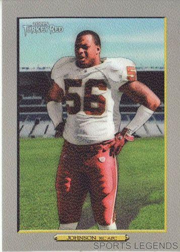 2006 Turkey Red #86 Derrick Johnson