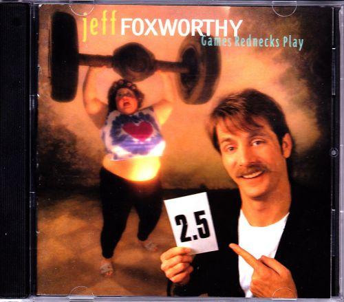 Games Rednecks Play by Jeff Foxworthy CD 1995 - Very Good