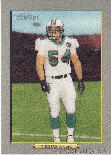 2006 Turkey Red #235 Zach Thomas