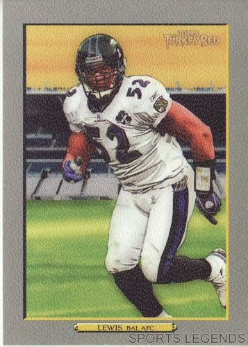2006 Turkey Red #310 Ray Lewis