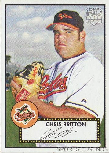 2006 Topps 52 Style #4 Chris Britton