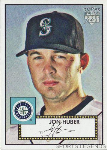 2006 Topps 52 Style #12 Job Huber