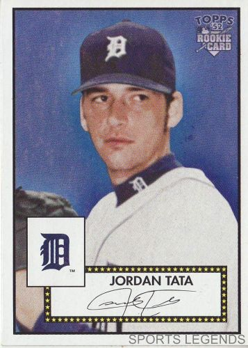 2006 Topps 52 Style #13 Jordan Tata