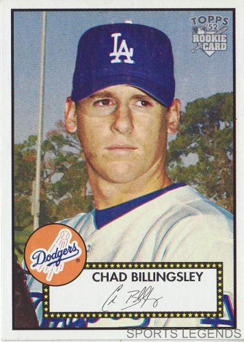 2006 Topps 52 Style #19 Chad Billingsley