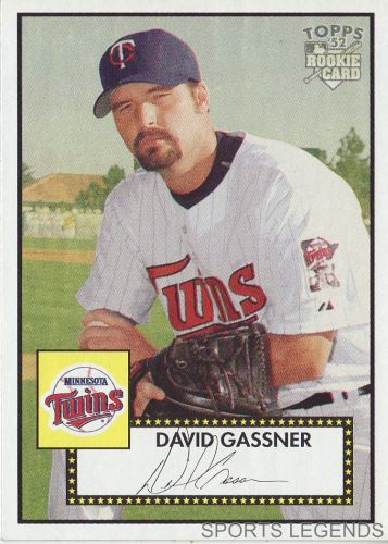 2006 Topps 52 Style #22 David Gassner