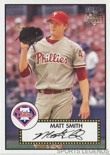 2006 Topps 52 Style #24 Matt Smith