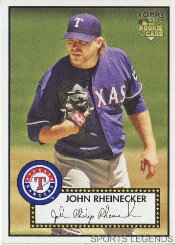 2006 Topps 52 Style #32 John Rheinecker