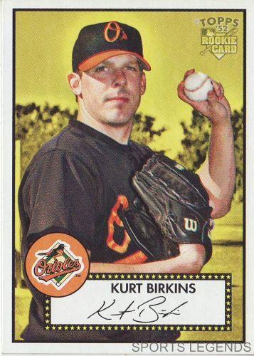 2006 Topps 52 Style #39 Kurt Birkins