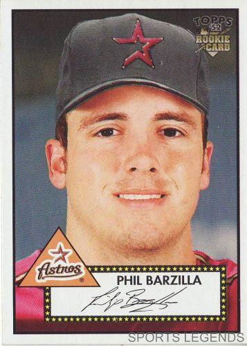 2006 Topps 52 Style #50 Phil Barzilla
