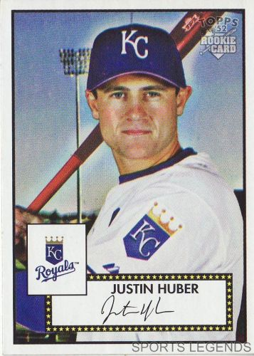 2006 Topps 52 Style #51 Justin Huber