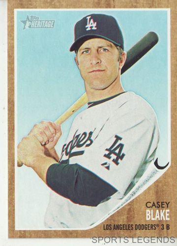 2011 Heritage #197 Casey Blake