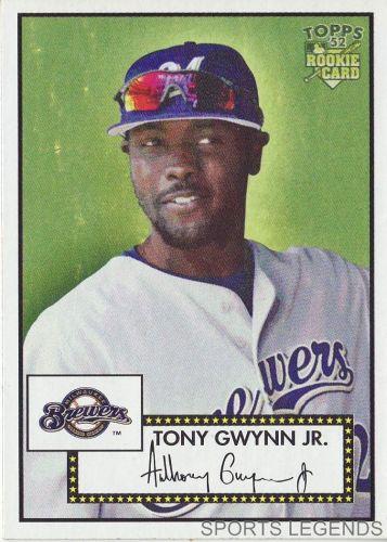 2006 Topps 52 Style #53 Tony Gwynn Jr