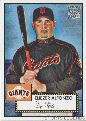 2006 Topps 52 Style #59 Eliezer Alfonzo