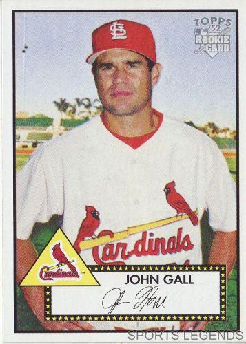 2006 Topps 52 Style #61 John Gall