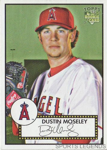 2006 Topps 52 Style #68 Dustin Moseley