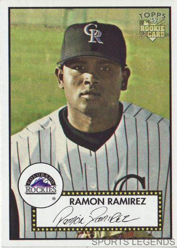 2006 Topps 52 Style #75 Ramon Ramirez