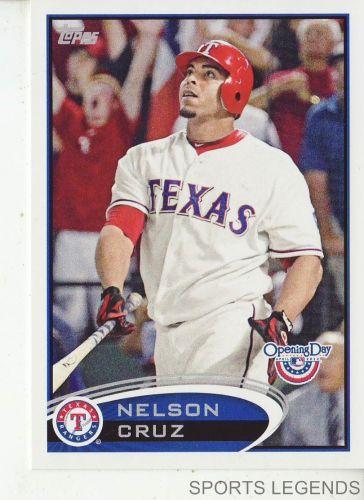 2012 Opening Day #3 Nelson Cruz