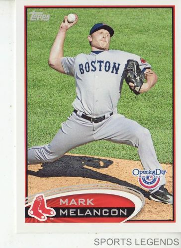 2012 Opening Day #45 Mark Melancon