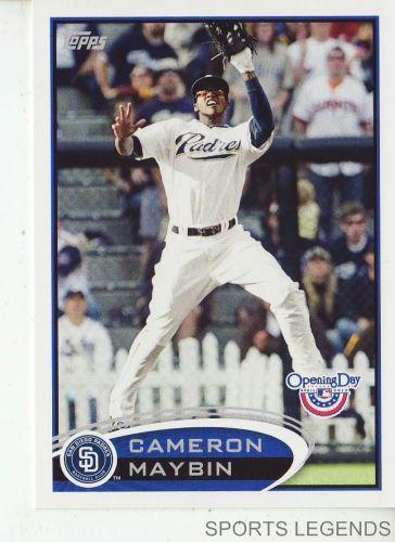 2012 Opening Day #74 Cameron Maybin
