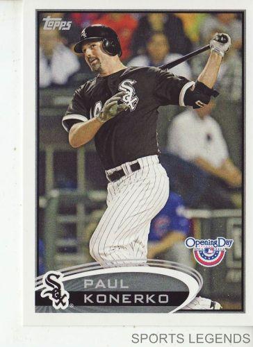 2012 Opening Day #114 Paul Konerko