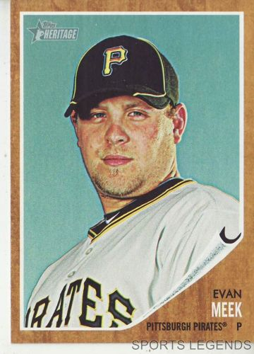 2011 Heritage #210 Evan Meek