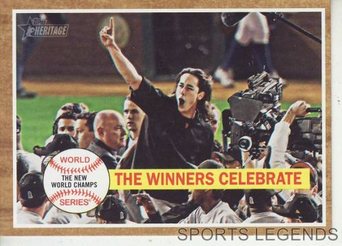 2011 Heritage #237 World Series winners