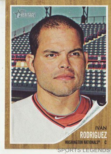 2011 Heritage #262 Ivan Rodriguez