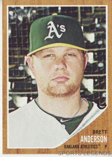 2011 Heritage #357 Brett Anderson