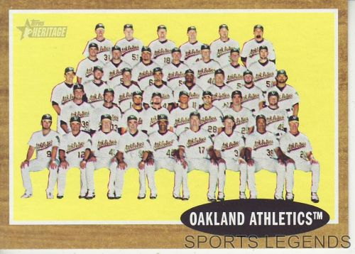 2011 Heritage #384 Oakland Athletics