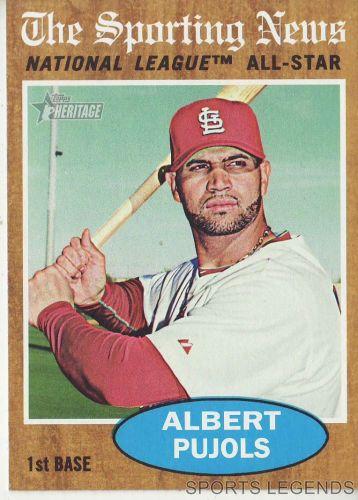 2011 Heritage #390 Albert Pujols