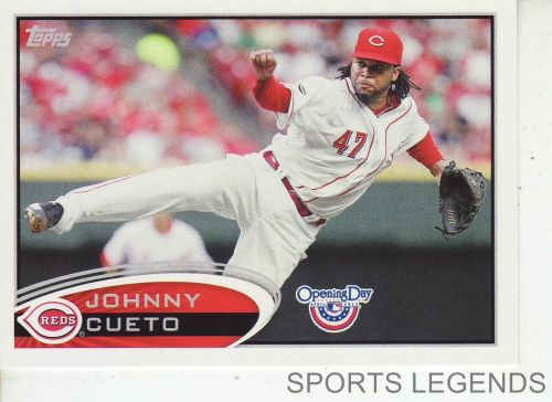 2012 Opening Day #151 Johnny Cueto