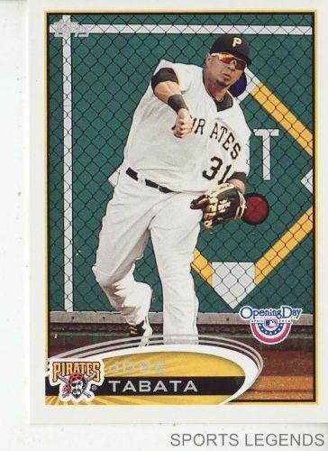 2012 Opening Day #168 Jose Tabata