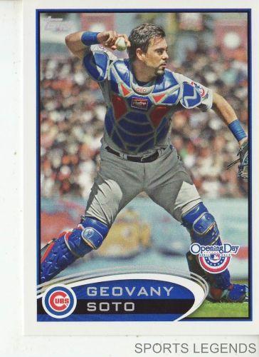2012 Opening Day #176 Geovany Soto