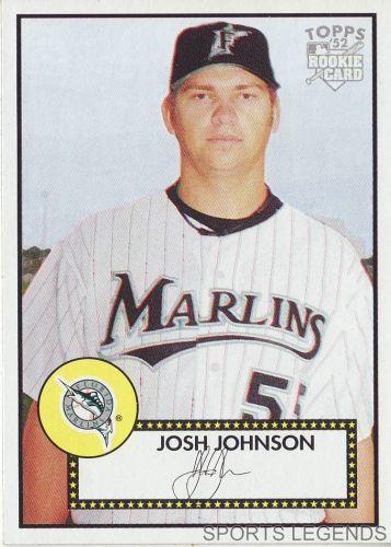 2006 Topps 52 Style #78 Josh Johnson
