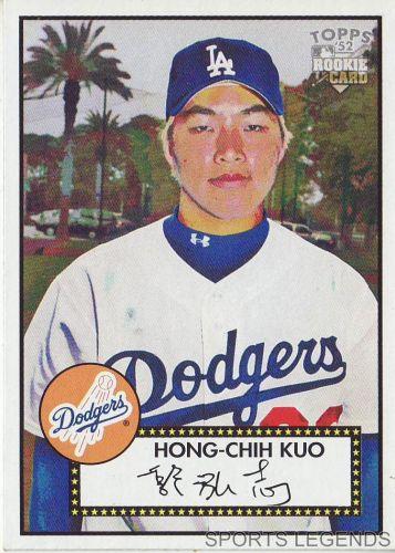 2006 Topps 52 Style #81 Hong-Chih Kuo