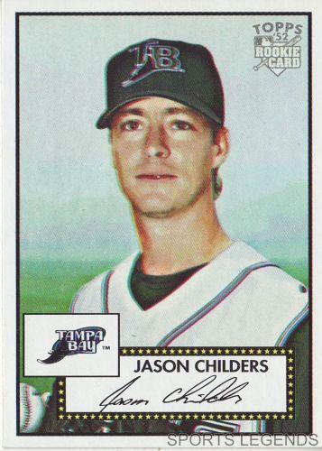 2006 Topps 52 Style #91 Jason Childers