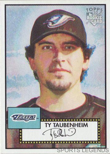 2006 Topps 52 Style #93 Ty Taubenheim