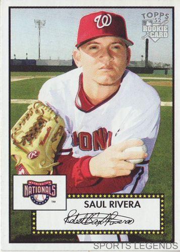 2006 Topps 52 Style #94 Saul Rivera