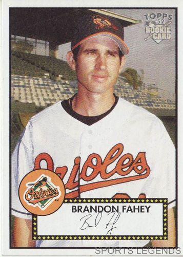 2006 Topps 52 Style #98 Brandon Fahey